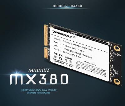 타무즈, mSATA SSD 'MX380' 출시